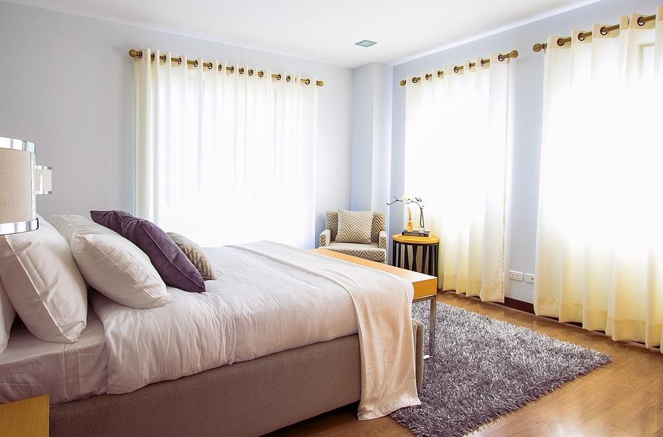 Vzhled moderní ložnice