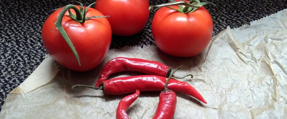 Zpracování rajčat a paprik