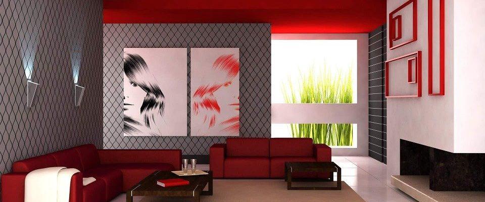 Patří nebo nepatří červená barva do interiéru?